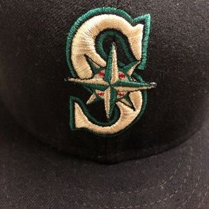 Seattle Mariners New Era On Field Cap Size 7 3/4